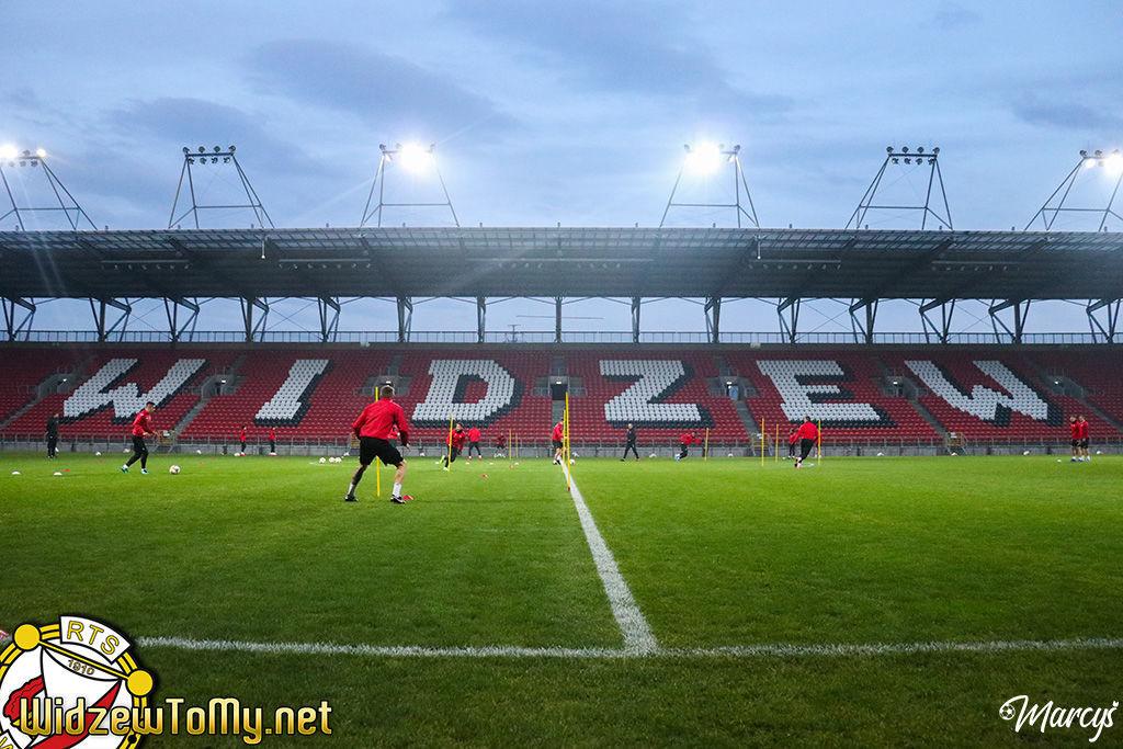 Środowy trening na stadionie (foto)