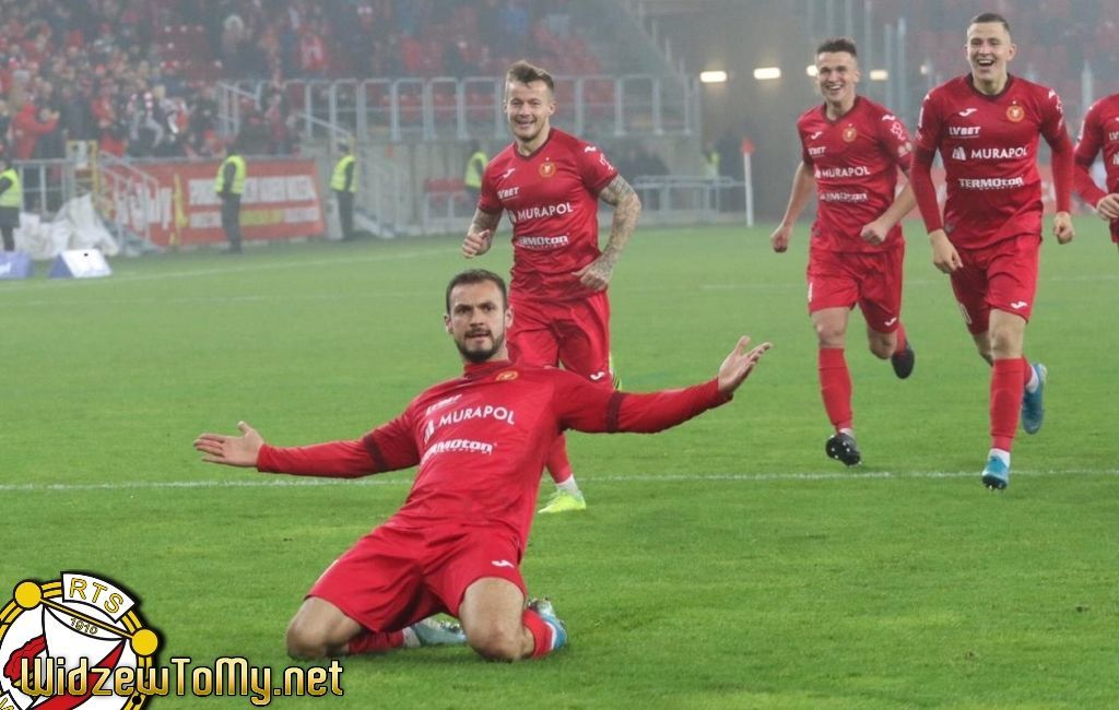 Widzew Łódź – Gryf Wejherowo 4:0 (1:0)
