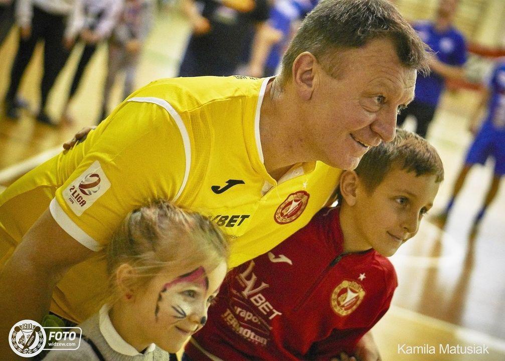 Widzew zagrał charytatywnie dla Wiktora. Turniej zorganizowany przez Fan Club Widzewa ze Skierniewic