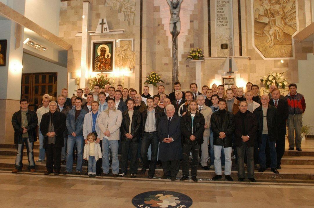 ŁKS i Widzew na wspólnej mszy świętej w kościele p.w. Mateusza Ewangelisty przy ul. Strzelców Kaniowskich