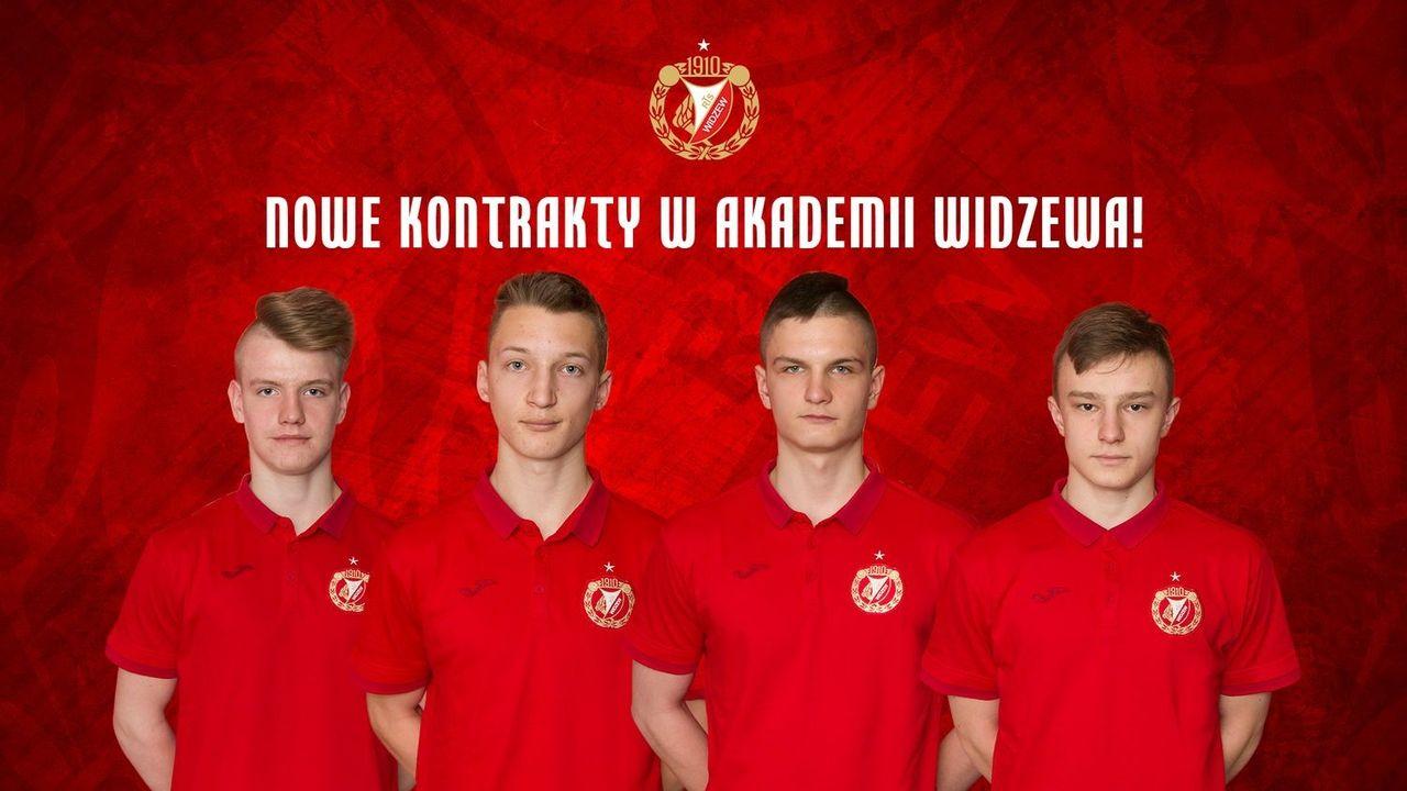 Kolejni piłkarze Akademii z kontraktami