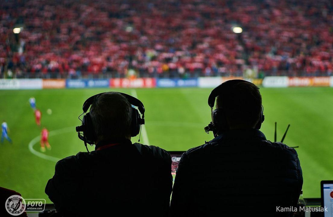 Transmisja z meczu Widzewa z Olimpią Elbląg również w wersji audio