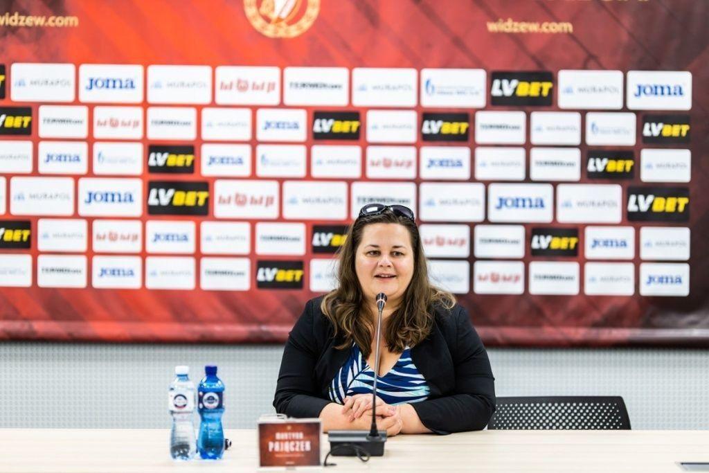 """Martyna Pajączek o sytuacji Widzewa: """"Mogę uspokoić kibiców, że w klubie nie dzieje się nic złego"""""""
