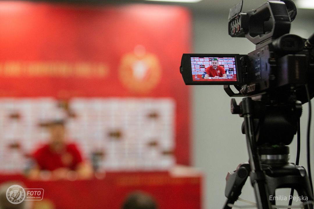 Akredytacje prasowe na domowe mecze ligowe Widzewa