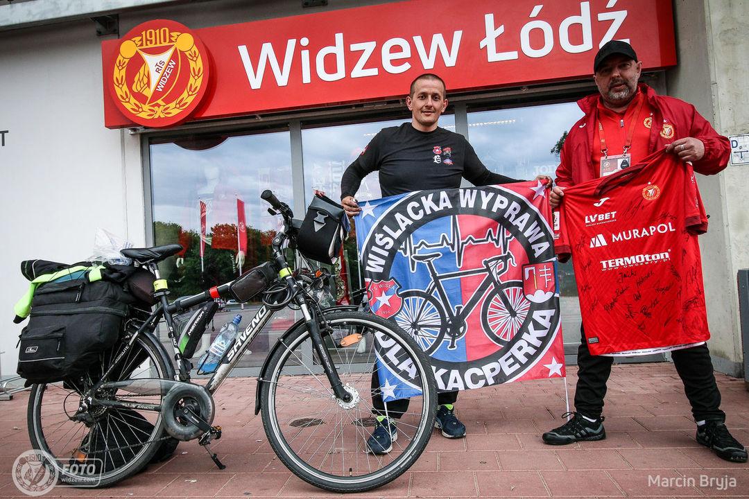 Wiślacka wyprawa rowerowa dotarła do Serca Łodzi