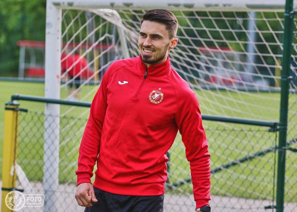 Krystian Nowak rozpoczyna treningi z drużyną
