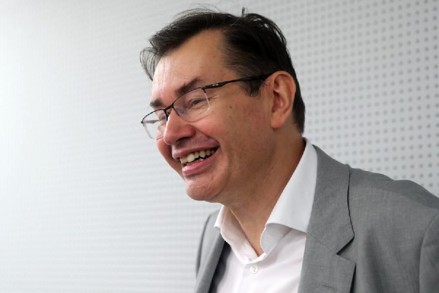 Konferencja nowego właściciela Widzewa na zdjęciach
