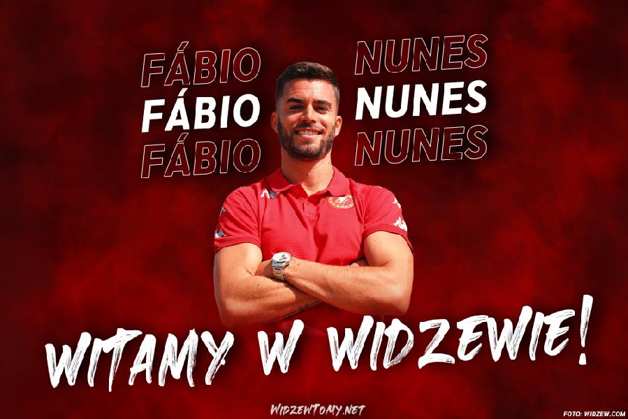 Nunes nowym piłkarzem Widzewa!
